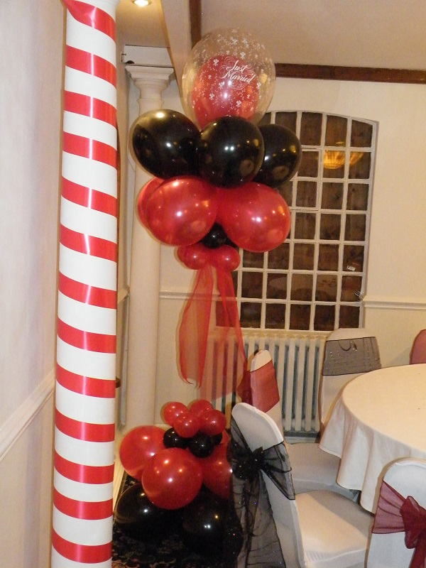 casino party balloons