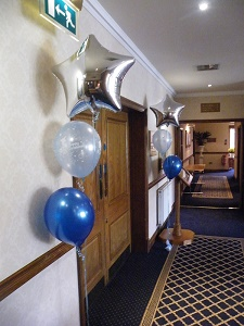 printed christening balloon