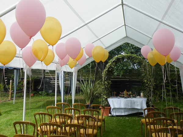 Naming ceremony and christening balloons for Balloon decoration for naming ceremony