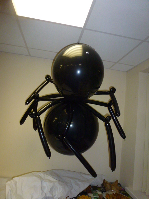 halloween giant spider balloon