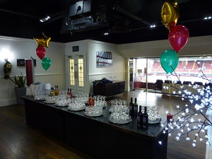christmas party balloons