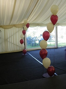 prom balloons