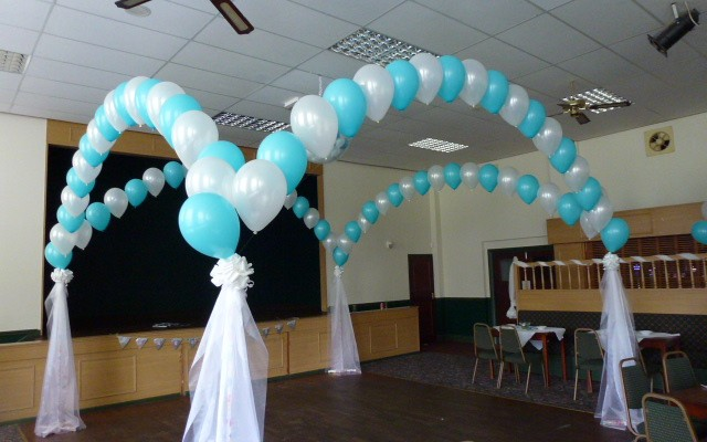 Balloon dance canopy