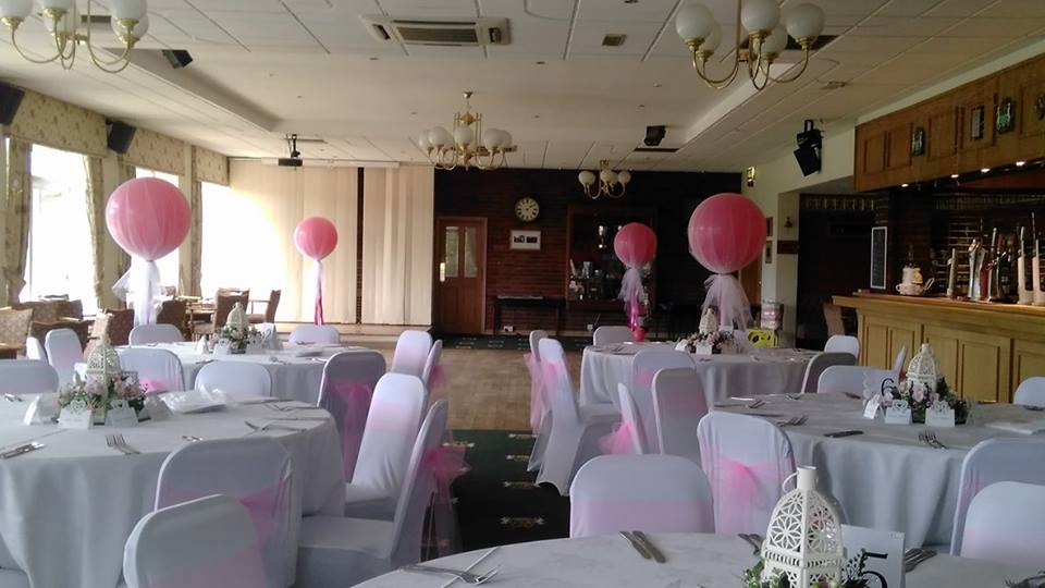 dance floor balloons
