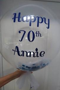 annie deco bubble