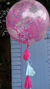 giant confetti balloon