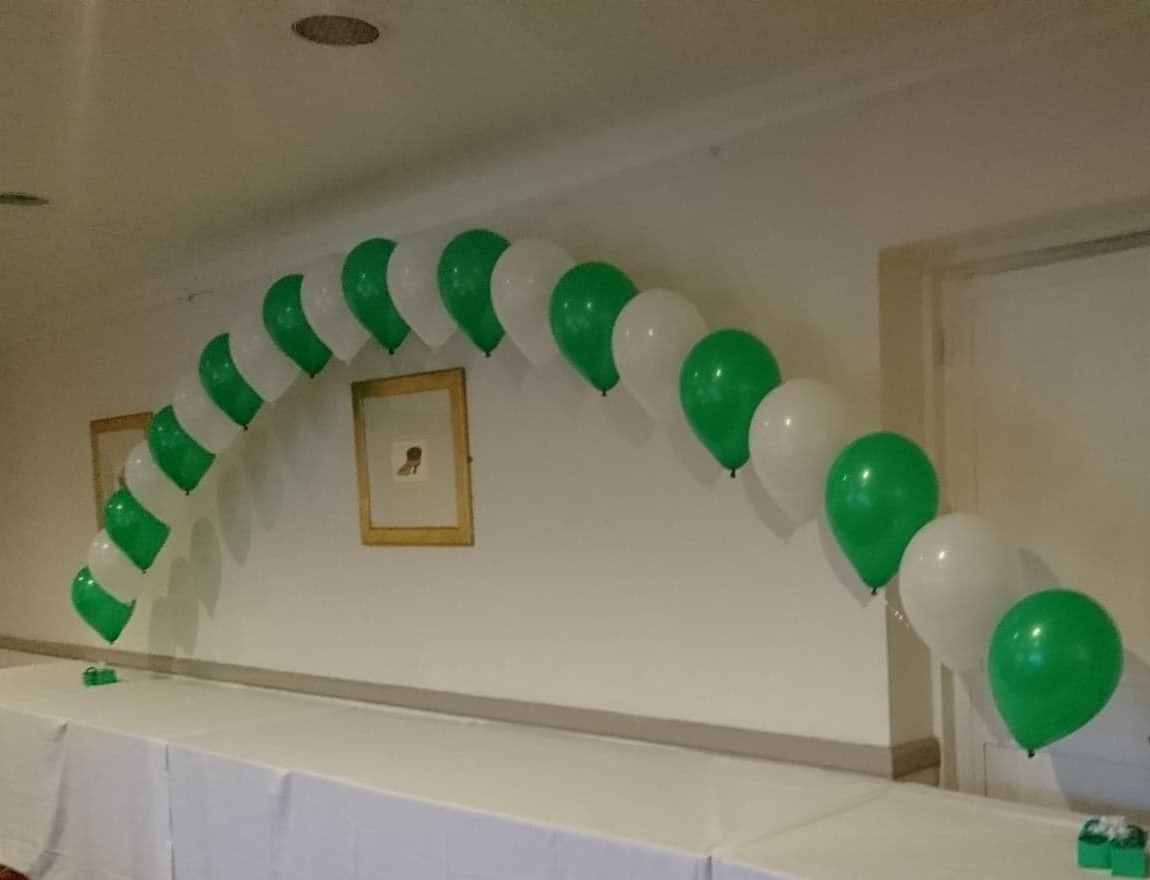 St Patrick Day balloons